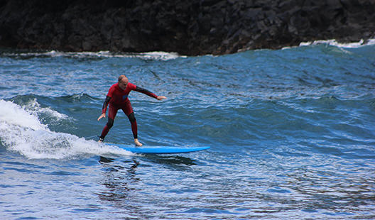 Surfing in Madeira